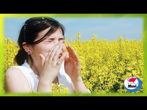 Remedios caseros para la alergia al polen - Aliviar los sintomas de la alergia primaveral