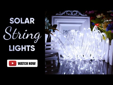 Decorative Solar Led String Light