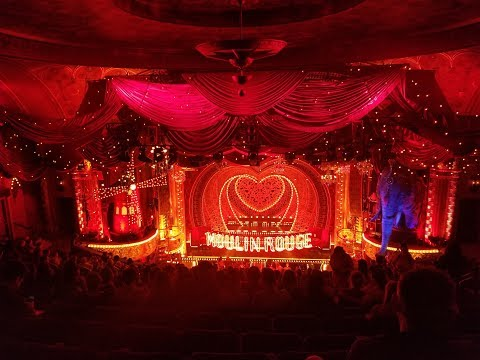 Moulin Rouge! The Musical on Broadway Review