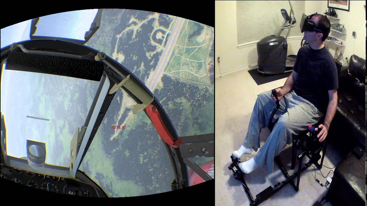You Can Be A Fighter Pilot With Oculus Rift's Most Immersive Flight-Sim Ever