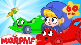 The Ice Cream Race - Morphle Vs Orphle | Cartoons for Kids | Mila and Morphle | Morphle TV