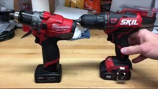 Skil 12v Brushless Drill vs Milwaukee Fuel Gen 2