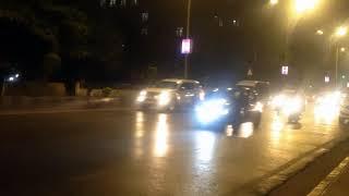 Royalty free footages HD Mumbai   GaneshChaturthi   Busy roads of Mumbai   Night travelling traffic