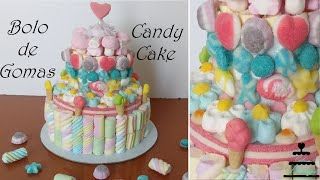 Bolo De Gomas - Gummy/Candy Cake (ENGLISH SUBTITLES)