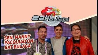 Sen. Manny Pacquiao on Eat Bulaga!   July 24, 2018