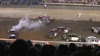 preview picture of video '2014 Crawford County Fair ( Meadville, PA)  Demo Derby'