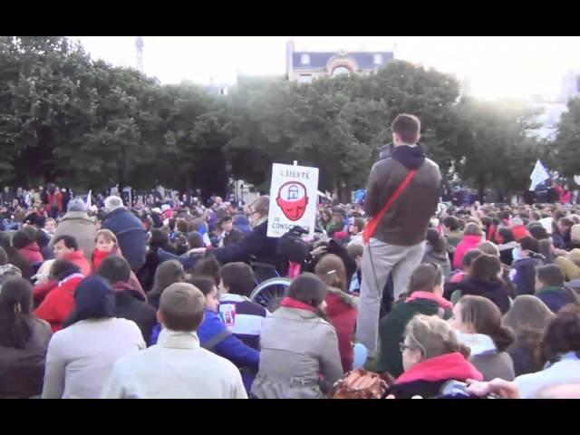 La  Manif pour Tous du 26 mai  2013 - video 1