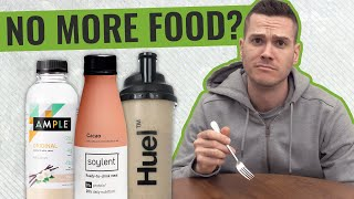 Could You Just Live On Meal Replacement Shakes?