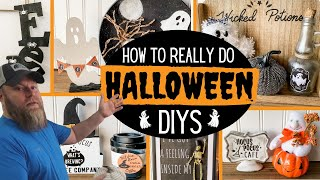 Mr. Cheap Explains How to REALLY Make Halloween Decorations