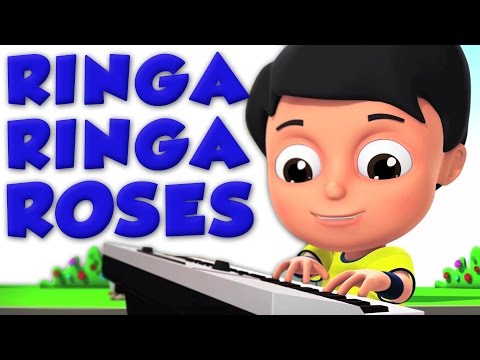 Ringa Ringa Roses | 3D Nursery Rhymes From Oh My Genius | Kids Songs For Childrens