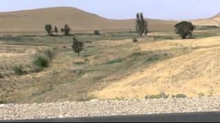 typisch windiges Reisewetter, Nähe Salamatabad (Iran), 18.07.2015