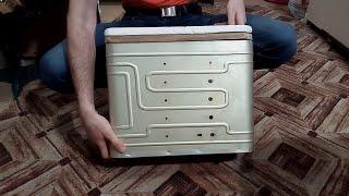 Зимний ящик для рыбалки алюминиевый