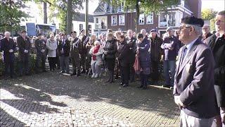 Onthulling Vrijheidsmonument 's Gravenmoer - Langstraat TV