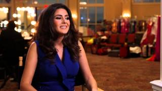 Saly Greige Lebanon Miss Universe 2014 Official Interview