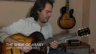 The Sheik Of Araby - Jazz Guitar Chord Melody