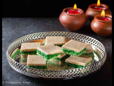 Oat & Cashewnut Sandwich Barfi