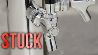 How To Unstick Sticky Beer Faucets - Cleaning Guide