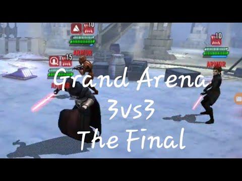 Swgoh Grand Arena LIVE 3v3 Counters - смотреть онлайн на Hah Life