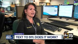 Does texting to 911 still work?