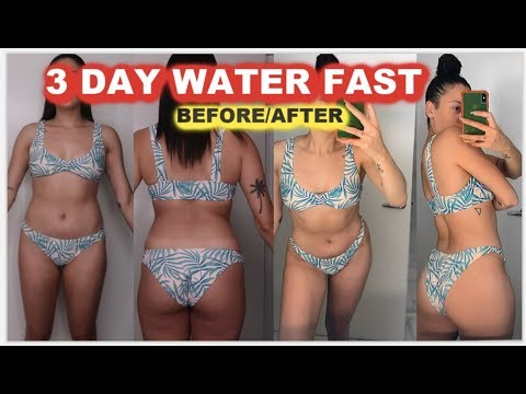 21 Day Water ONLY Fast | First 3 Days of Fasting - смотреть