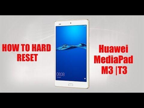 HOW TO HARD RESET HUAWEI MEDIAPAD M3 | T3 2017 - смотреть