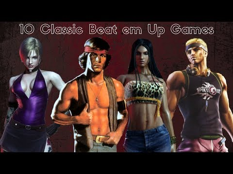 10 Classic Beat em Up Games (Xbox, PS2, GameCube, PC)(HD)