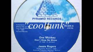 "Jessie Rogers - One Monkey Don't Stop No Show (12"" Electro Disco-Funk 1983)"