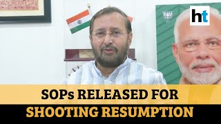 Shooting of films, TV serials can resume with SOPs: Prakash Javadekar  IMAGES, GIF, ANIMATED GIF, WALLPAPER, STICKER FOR WHATSAPP & FACEBOOK