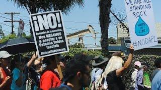 В США прошли массовые акции в защиту окружающей среды