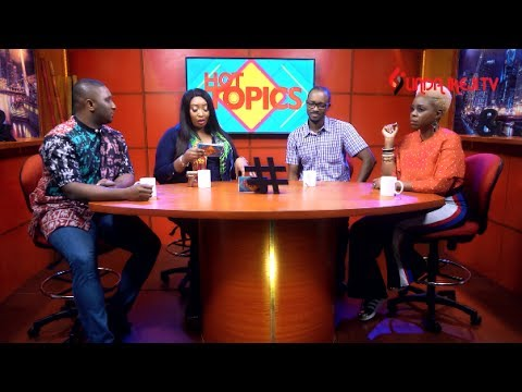 Lai Mohammed vs Nigerian Entertainers, Tonto Dikeh's Tattoos + more on Hot Topics Ep.10