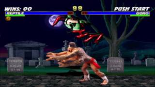 Reptile vs Goro Double Flawless HD