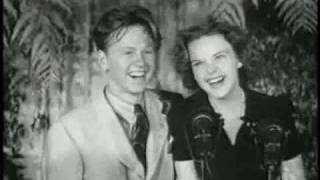 Mickey Rooney and Judy Garland - I wish I were In love again