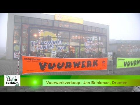 VIDEO   Vuurwerkklanten van Jan Brinkman in Dronten klaar voor jaarwisseling