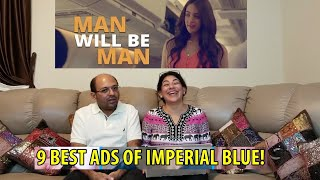 9 BEST ADS OF IMPERIAL BLUE | Men Will Be Men Imperial Blue Creative Funny Ads Collection | In HINDI