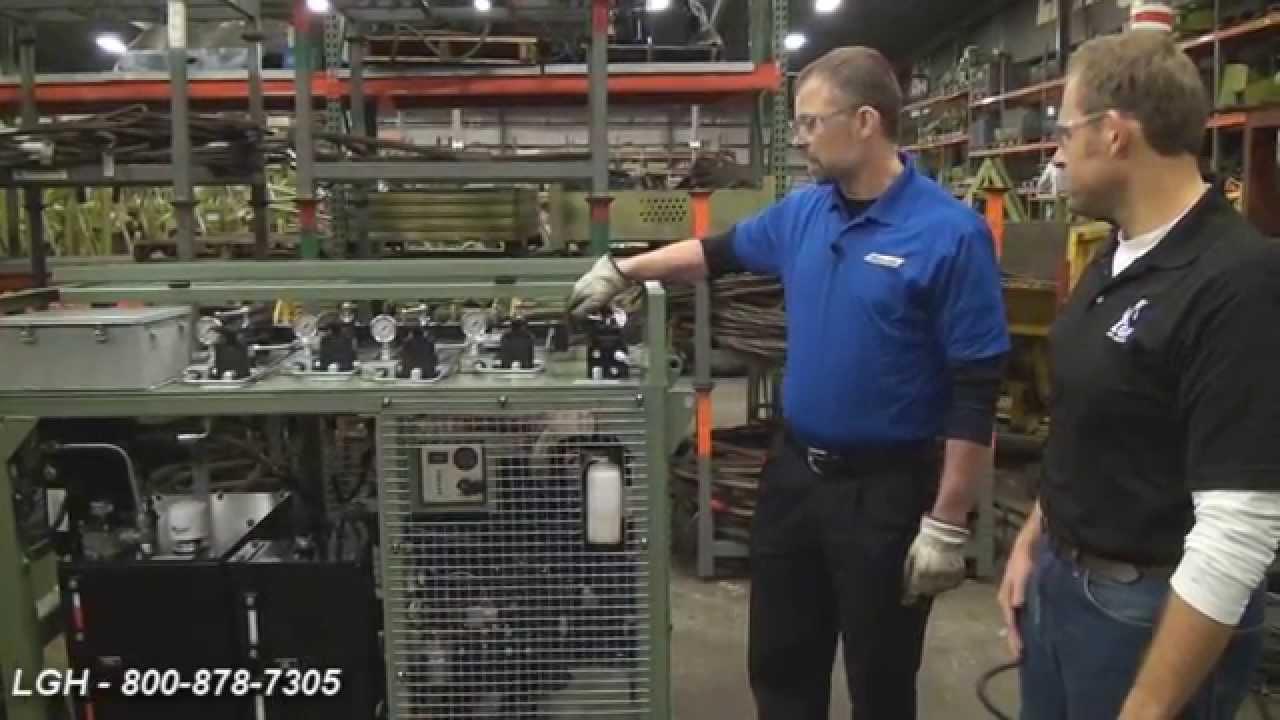 Hydra-Pac Synchronous Hydraulic Pump