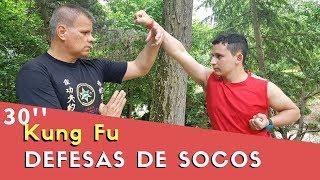 COMO DEFENDER DE SOCOS NO ROSTO E ESTOMAGO - KUNG FU 30