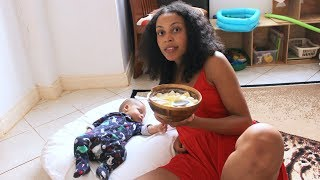 SELF CARE: What I Eat To Lose Weight After Pregnancy | Weight loss Tips