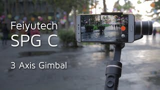 How  Gimbal for iPhone or Any Other Smartphone Works? Feiyutech SPG C video review
