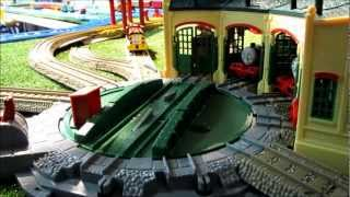 Trackmaster Motorized Tidmouth Sheds Set Unboxing Review And Demonstration