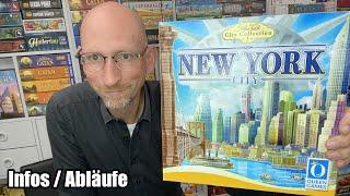 New York City - Stefan Feld City Collection (Queen Games) - Kickstarter