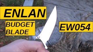 Budget Knife Series: Enlan EW054 Folder
