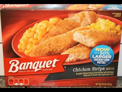 Banquet Chicken Strips Meal Review