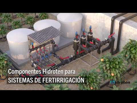 Sistemas de Fertirrigación con producto de Hidroten