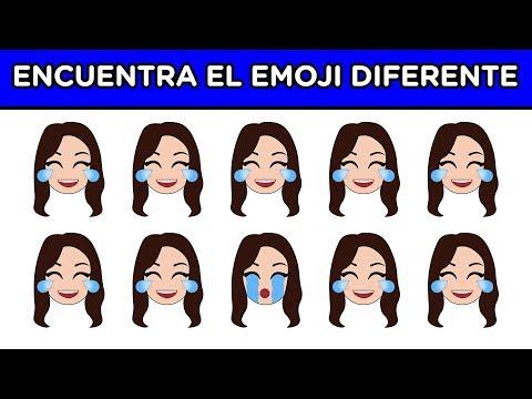 ENCUENTRA EL EMOJI DIFERENTE EN 10 SEGUNDOS   ES MUY DIFÍCIL   YOU OCIO