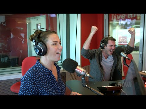 Kate Ritchie takes on Peter Stefanovic in Quick Draw!