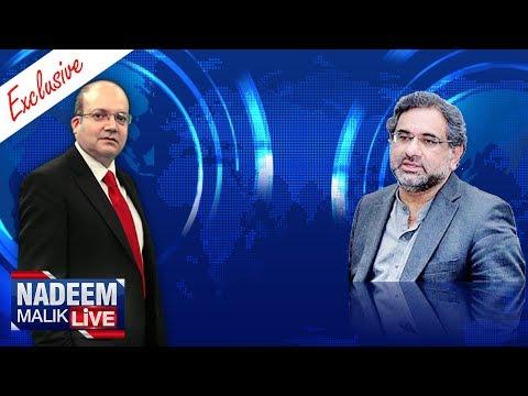 Shahid Khaqan Abbasi Exclusive | Nadeem Malik Live | SAMAA TV | 09 Aug 2017