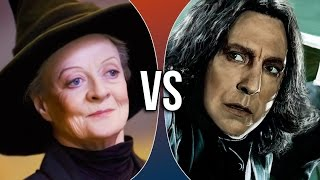 Versus Series | Minerva McGonagall vs Severus Snape