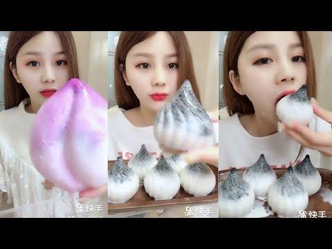 Sütlü Buz Yemek Videoları - #138 ASMR (Frozen Milk Eating)