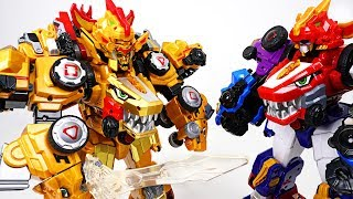 DinoCore S03 Ultimate D-Buster Tyranno Appeared With Ultra D-Saber Cerato! - DuDuPopTOY