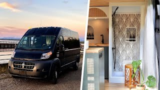 State-Of-The-Art VAN CONVERSION 🚐 | Hygienic TOILET 🚽 12v AIRCON ❄️ & The BEST Vanlife HOM by Nate Murphy